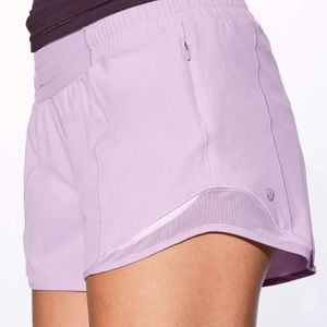 Lululemon Hotty Hot Shorts- Lilac/Lavender